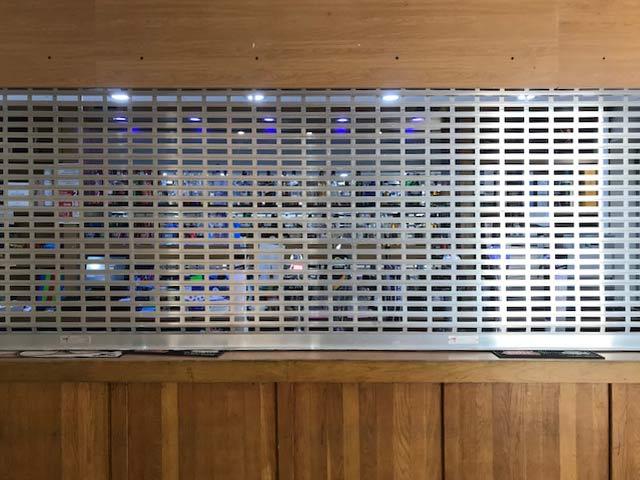 aluminium bar-grilles