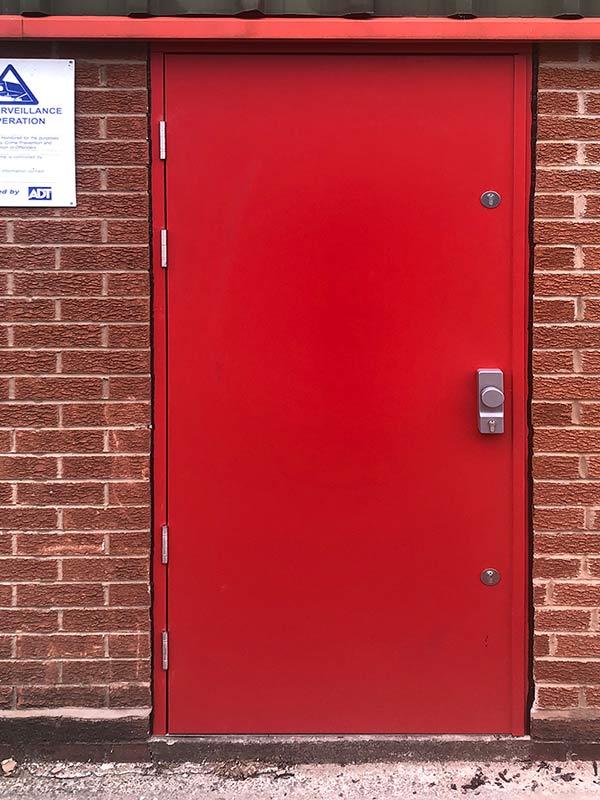 high-security safeguard defender unglazed steel-doors ext