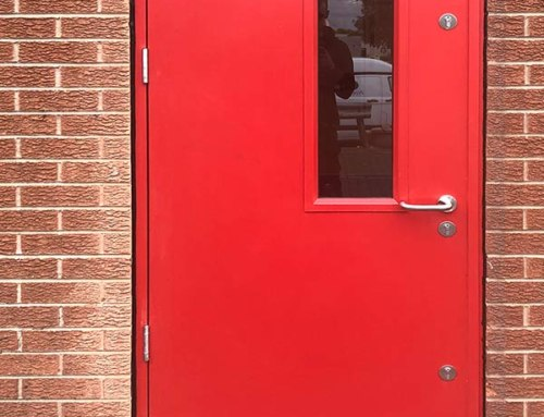 Bespoke Steel Security Doors Glazed & Unglazed