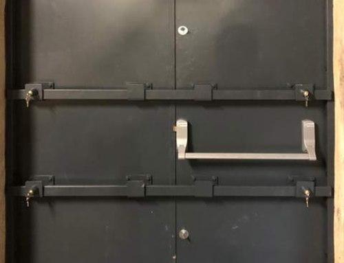 Metador Defender Safeguard Doors With Extra Drop-Down Security Bars