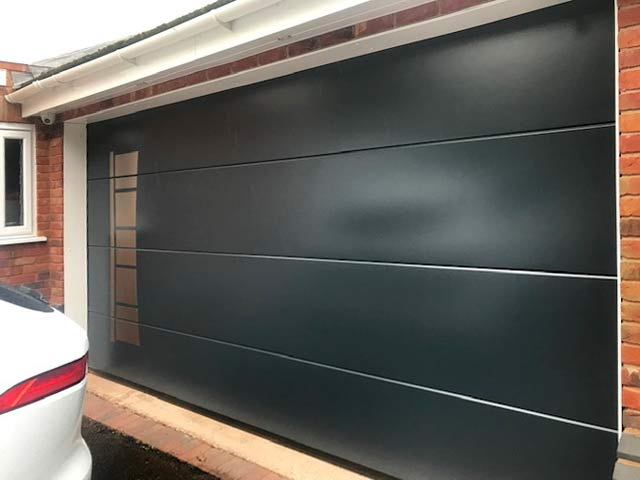 Sectional Garage Door Ryterna Design Range right view