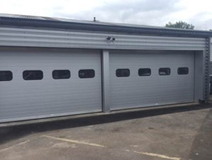 Mercedes Wolverhampton sectional-door