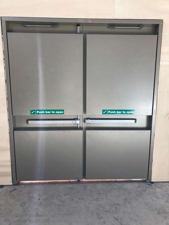 sports hall rebound doors 013
