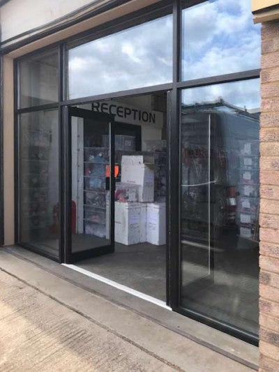 aluminium shop-front doors open panache for kids