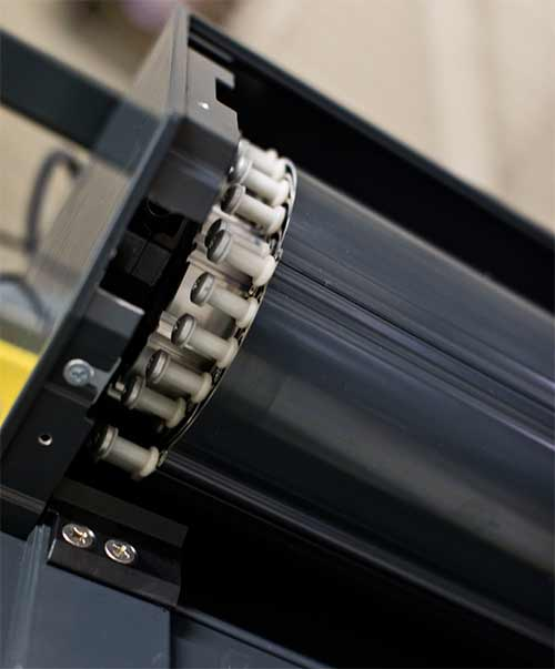 qompact high-security roller shutter space-saving design