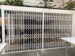 x-lattice security sliding grilles