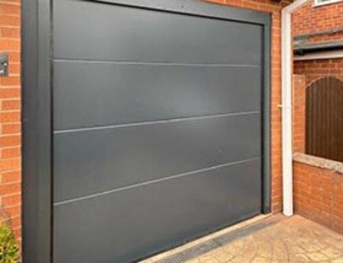 Insulated SWS Elite Sectional Garage Door