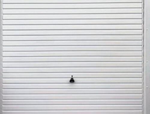 New Horizon Garage Door With Matching Cladding