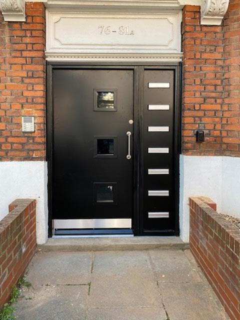 Composite Communal Entry Doors